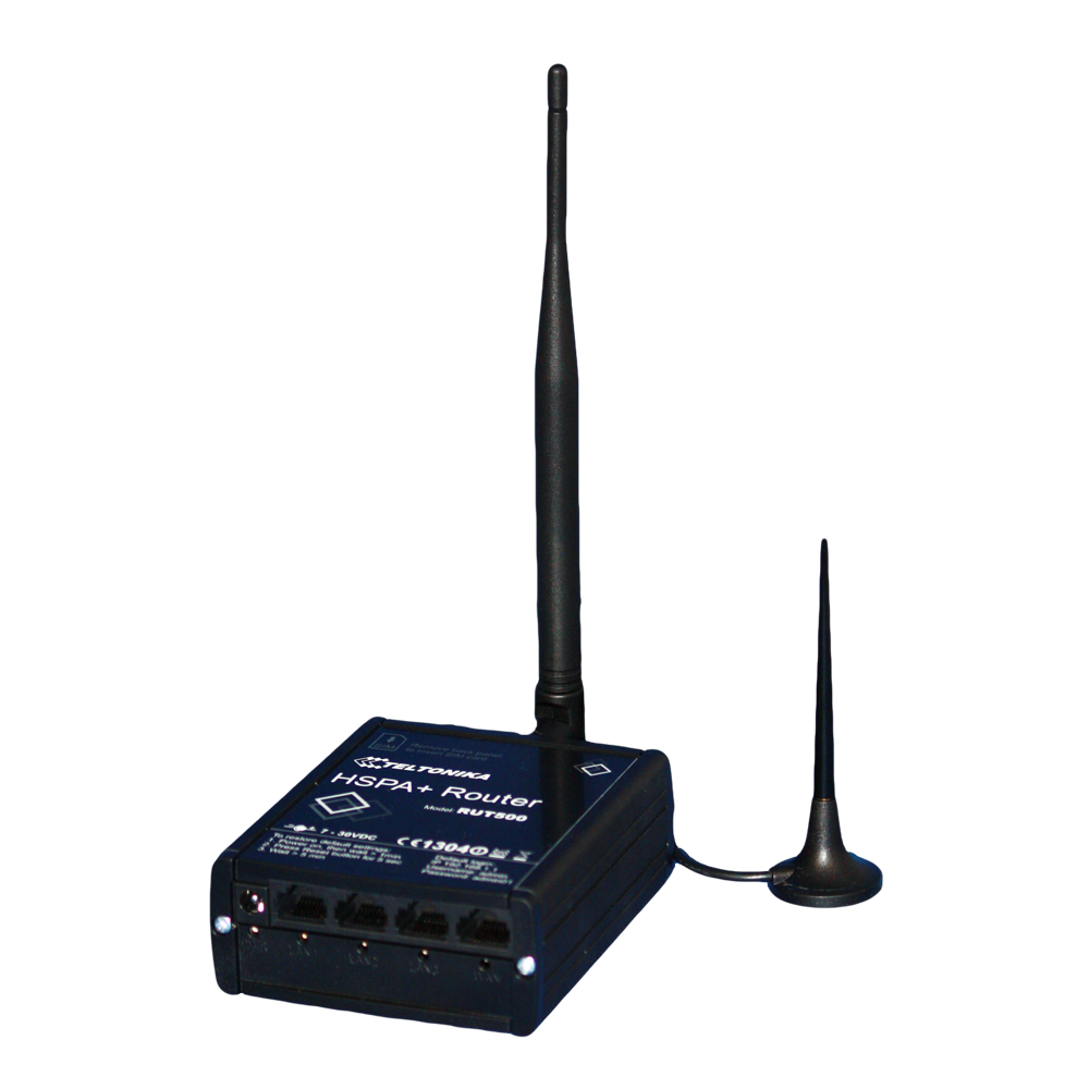 3G Router for remote monitoring of small CCTV systems